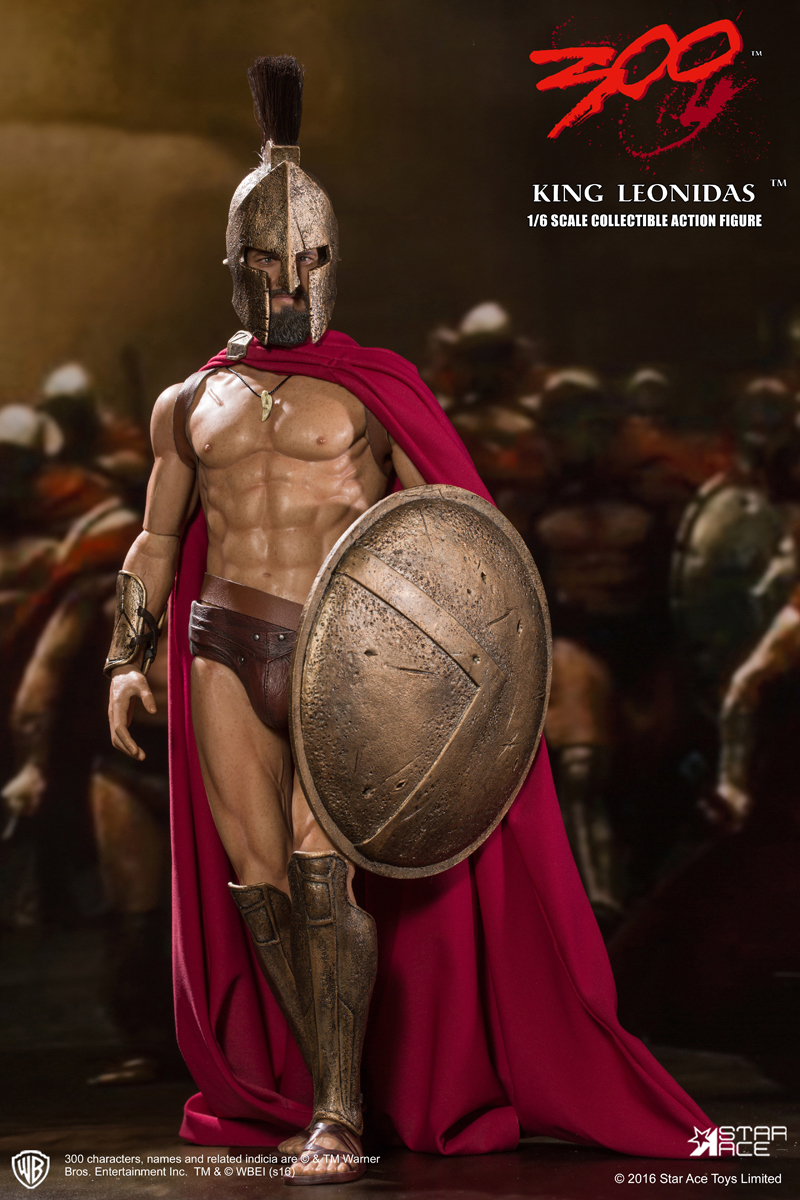 Star Ace 300 King Leonidas Sixth Scale Figure